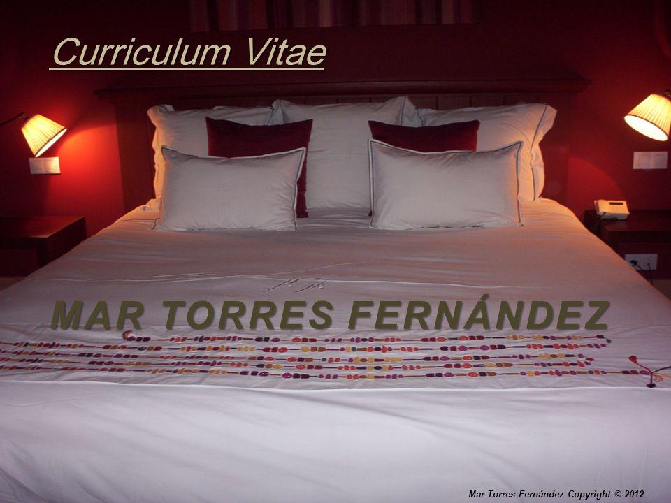 MAR TORRES FERNÁNDEZ Curriculum Vitae