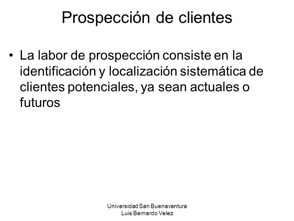 Prospección de clientes