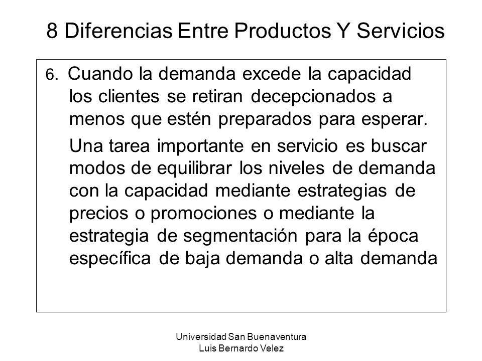 8 Diferencias Entre Productos Y Servicios