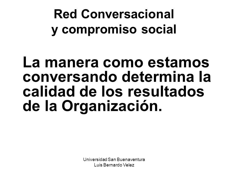 Red Conversacional y compromiso social