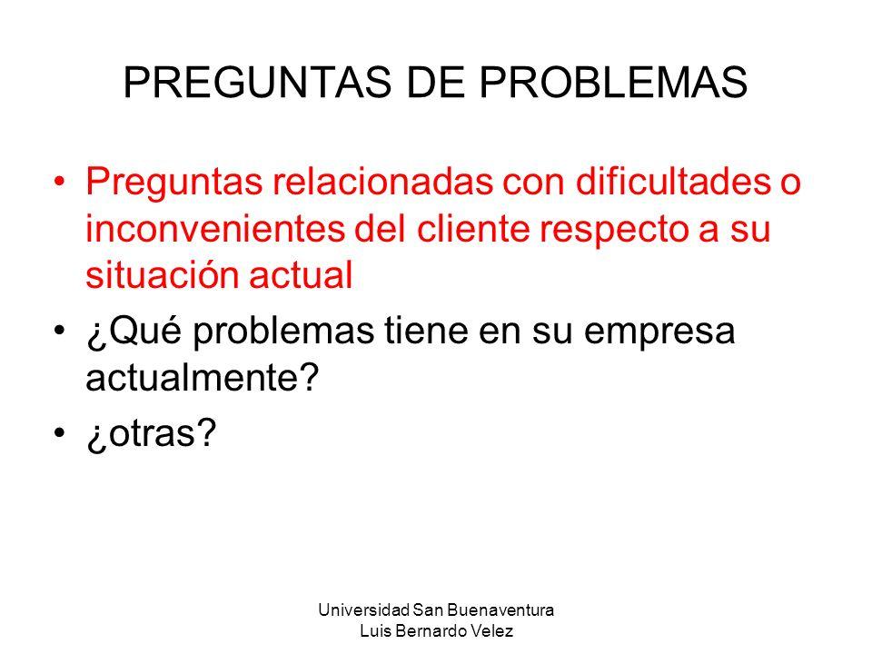 PREGUNTAS DE PROBLEMAS
