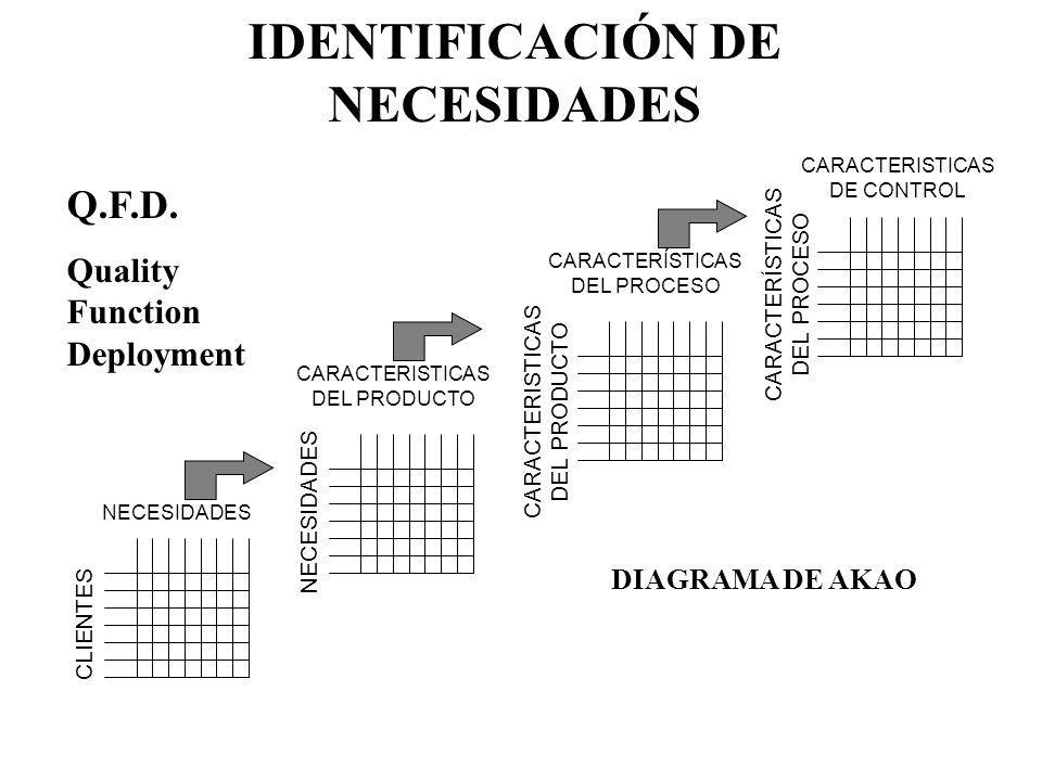 IDENTIFICACIÓN DE NECESIDADES