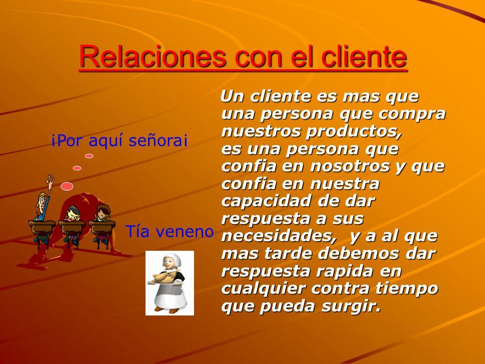 Relaciones con el cliente