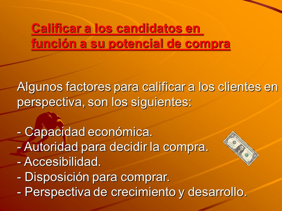 Calificar a los candidatos en