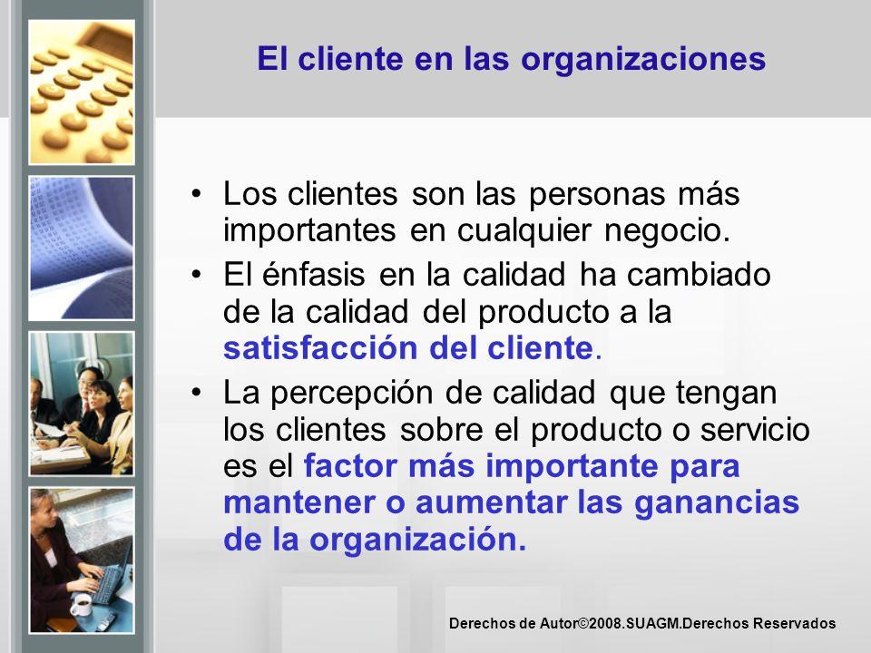 El cliente en las organizaciones