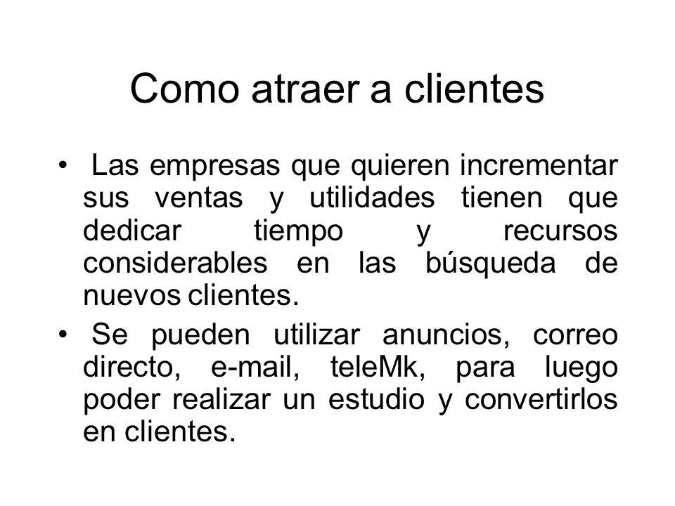 Como atraer a clientes