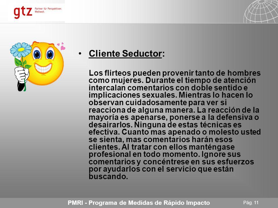 Cliente Seductor: