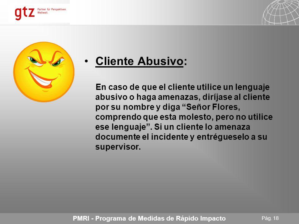 Cliente Abusivo: