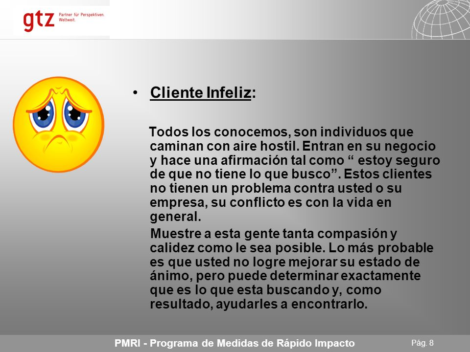 Cliente Infeliz: