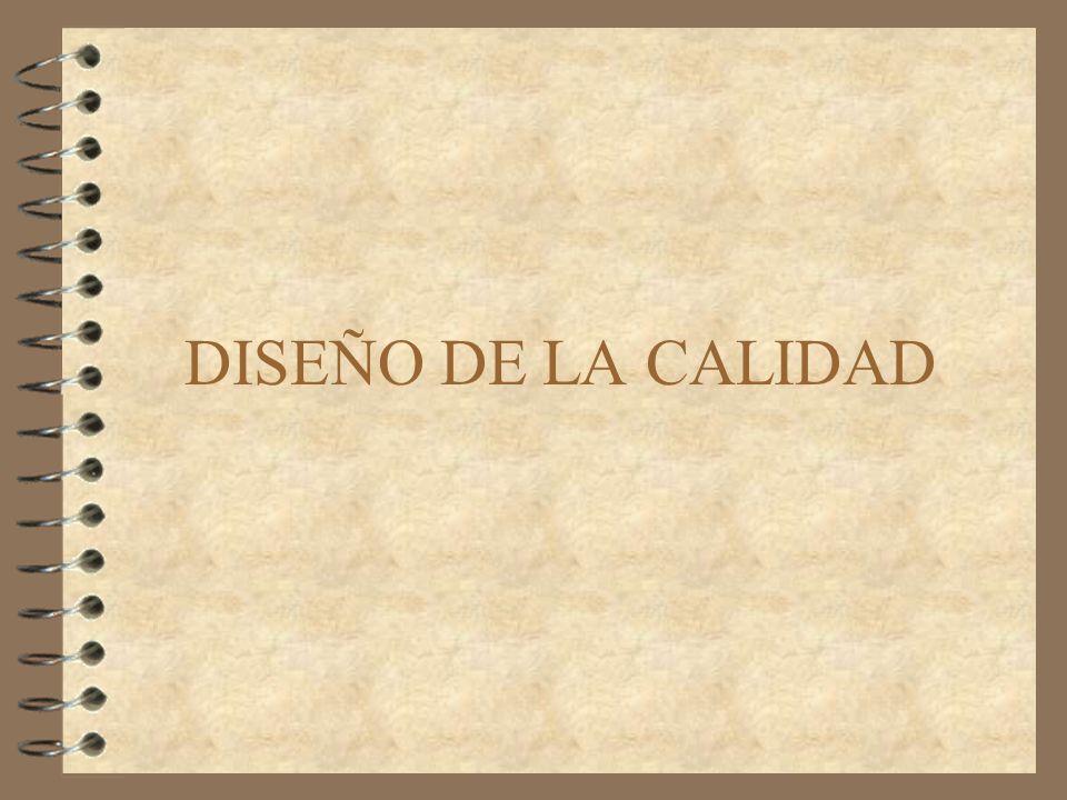 DISEÑO DE LA CALIDAD