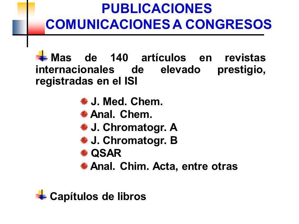 PUBLICACIONES COMUNICACIONES A CONGRESOS