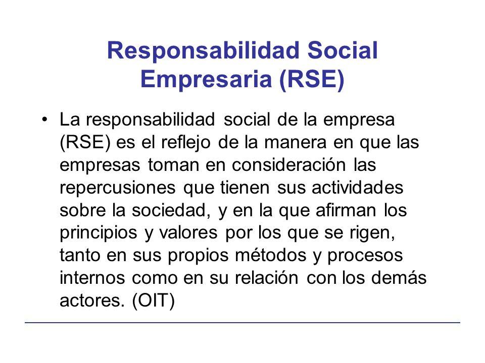 Responsabilidad Social Empresaria (RSE)
