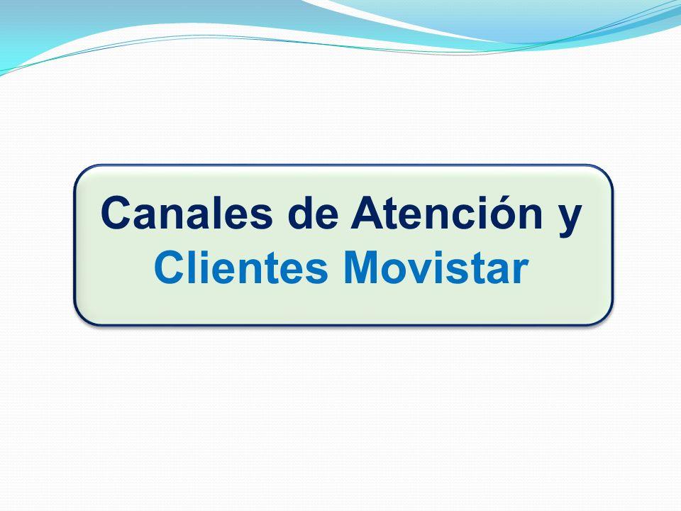 Canales de Atención y Clientes Movistar
