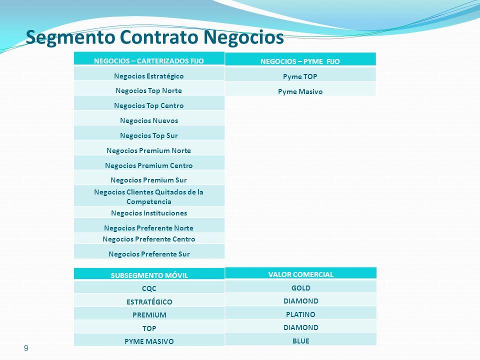 Segmento Contrato Negocios
