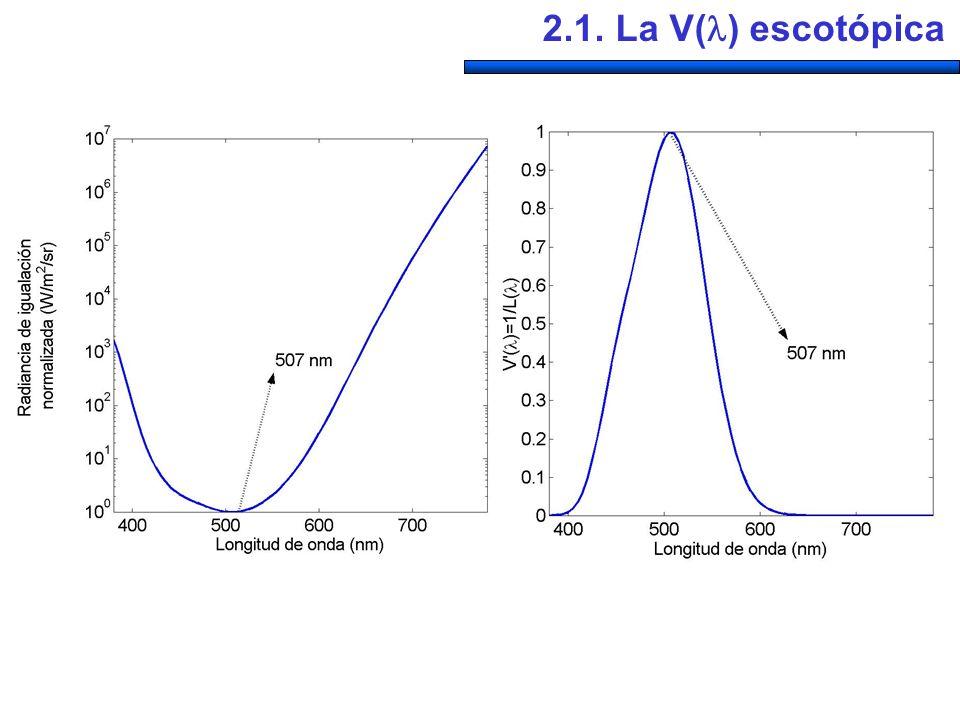 2.1. La V() escotópica
