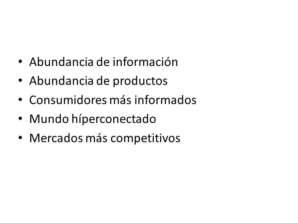 Abundancia de información