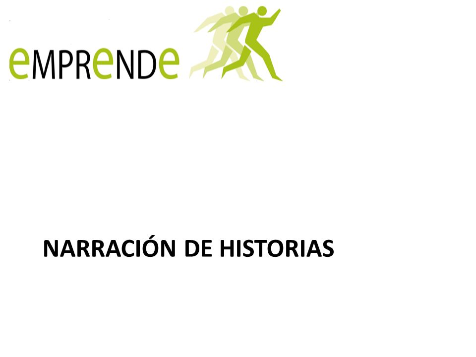 NARRACIÓN DE HISTORIAS