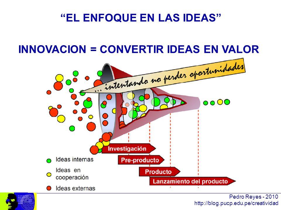 EL ENFOQUE EN LAS IDEAS