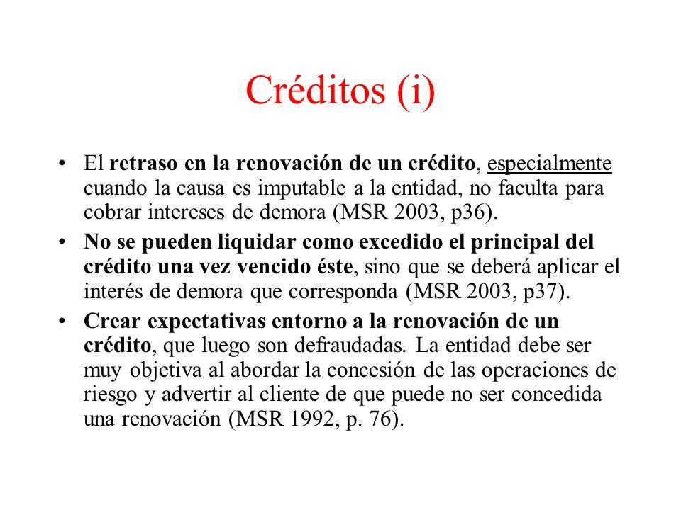 Créditos (i)