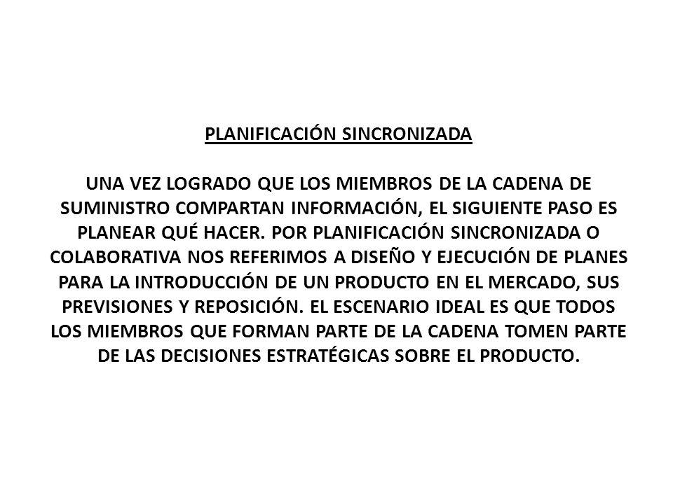 PLANIFICACIÓN SINCRONIZADA
