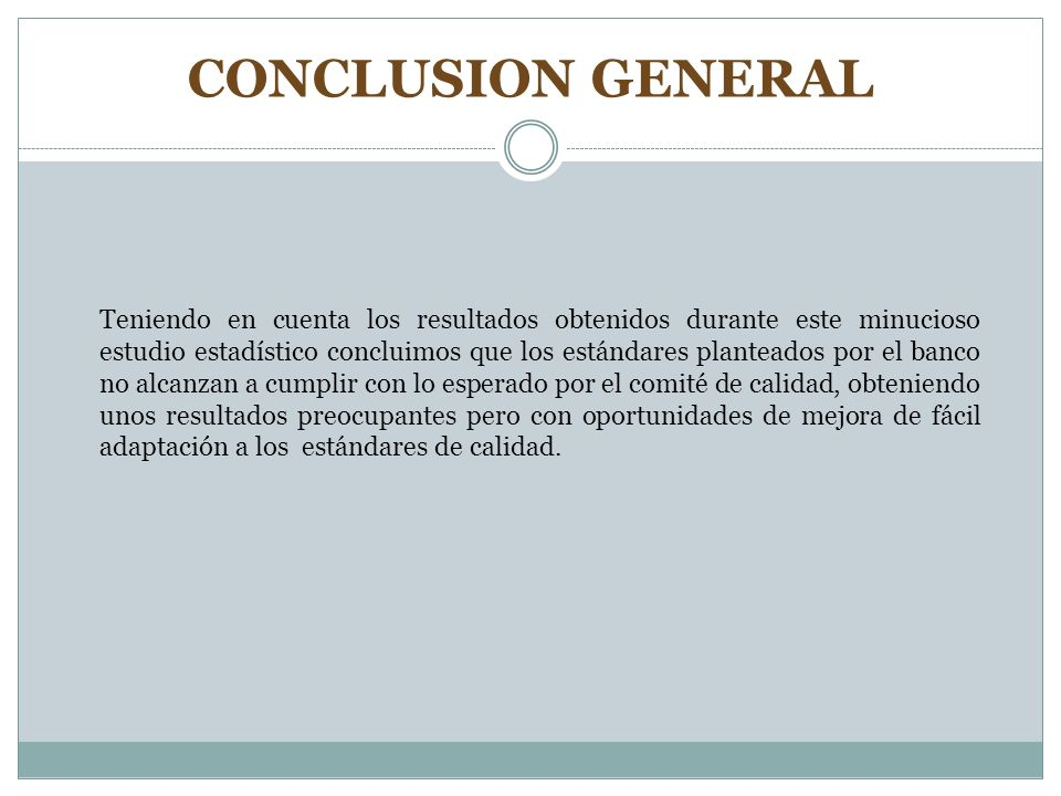 CONCLUSION GENERAL