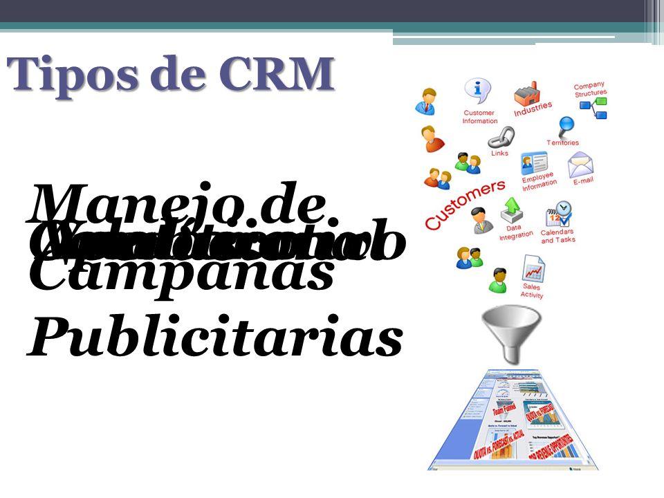 Manejo de Campañas Publicitarias Colaborativo Operacional Ventas