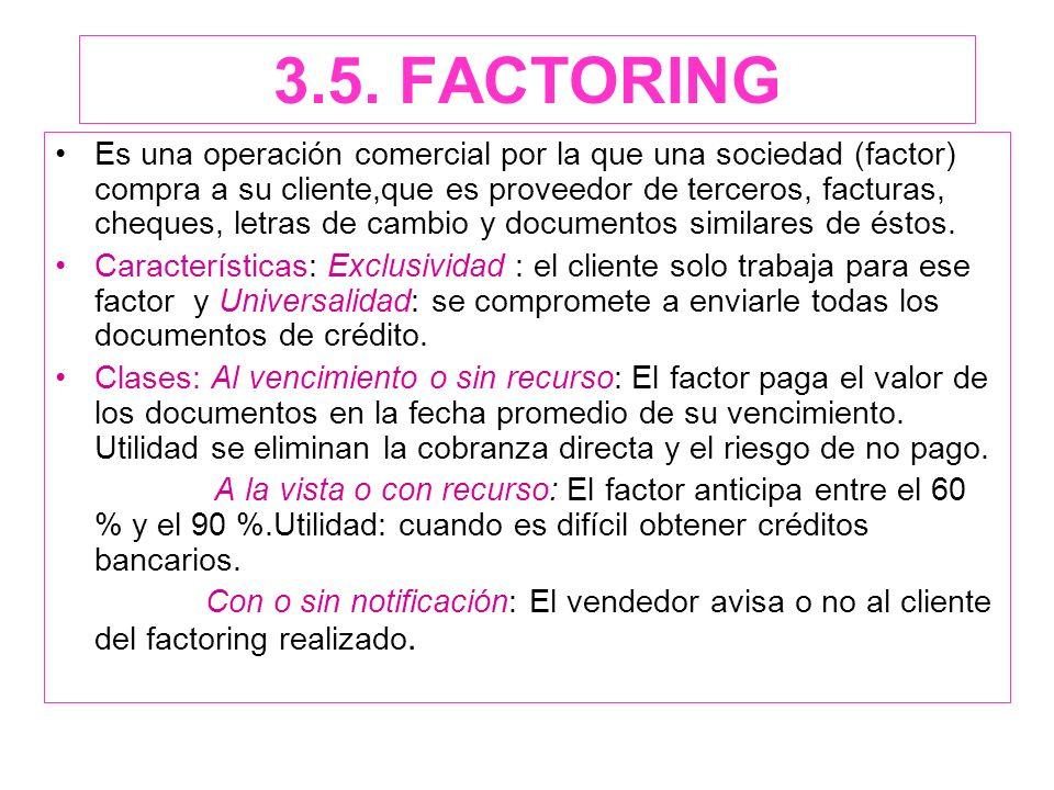 3.5. FACTORING