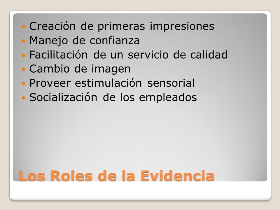 Los Roles de la Evidencia