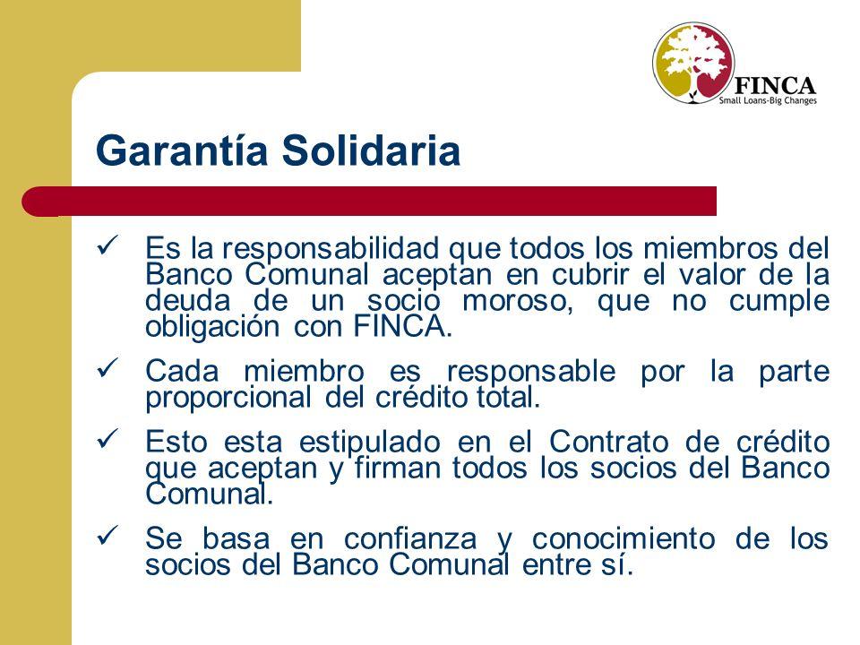 Garantía Solidaria