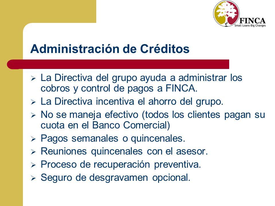 Administración de Créditos