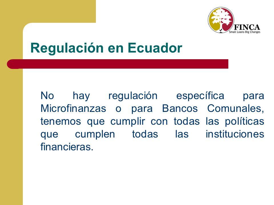 Regulación en Ecuador