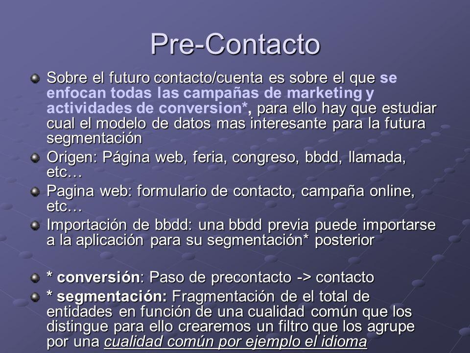Pre-Contacto