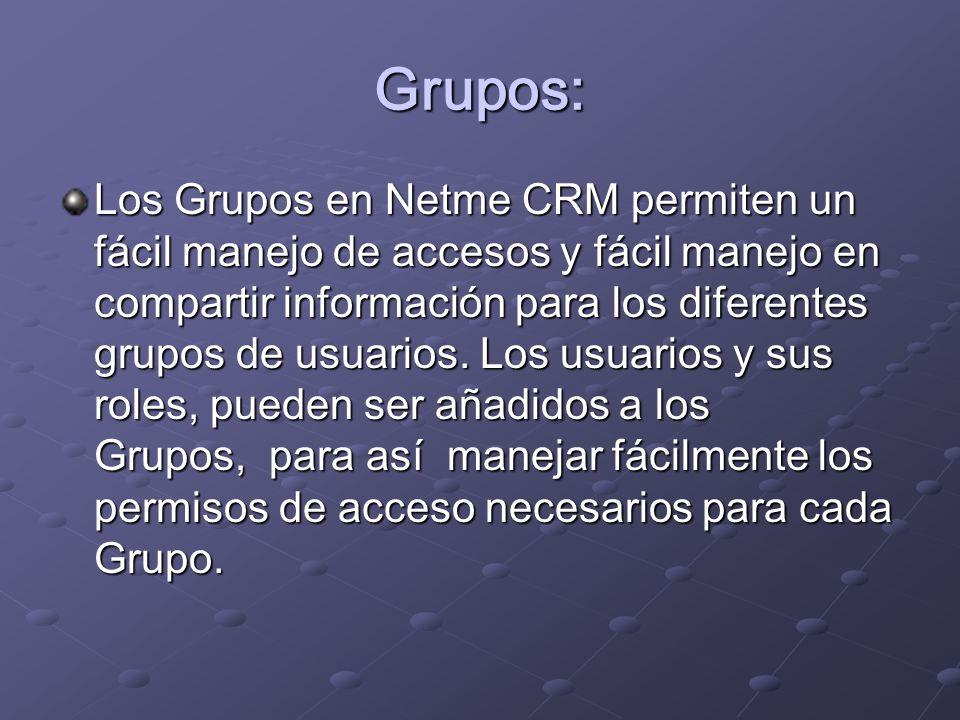 Grupos: