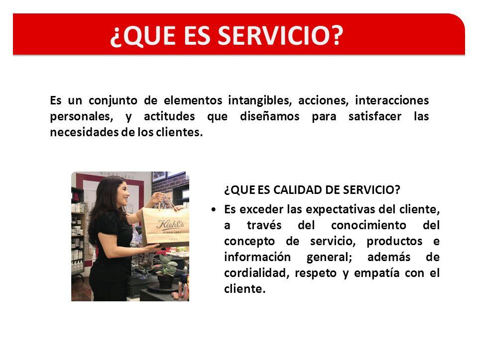 ¿QUE ES SERVICIO