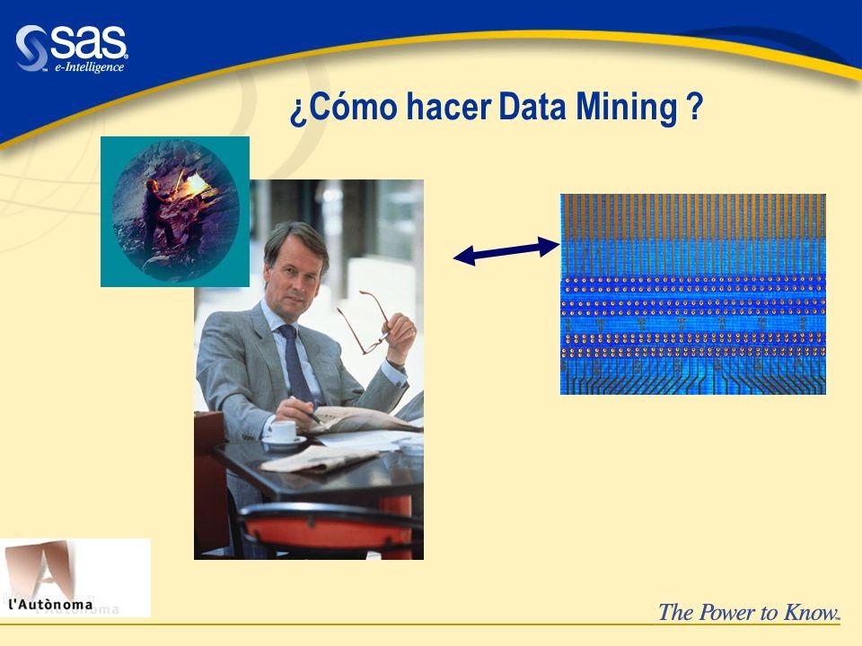 ¿Cómo hacer Data Mining
