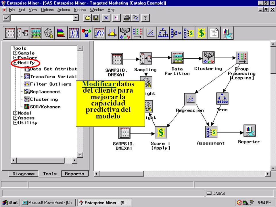 Modificar datos del cliente para mejorar la capacidad predictiva del modelo