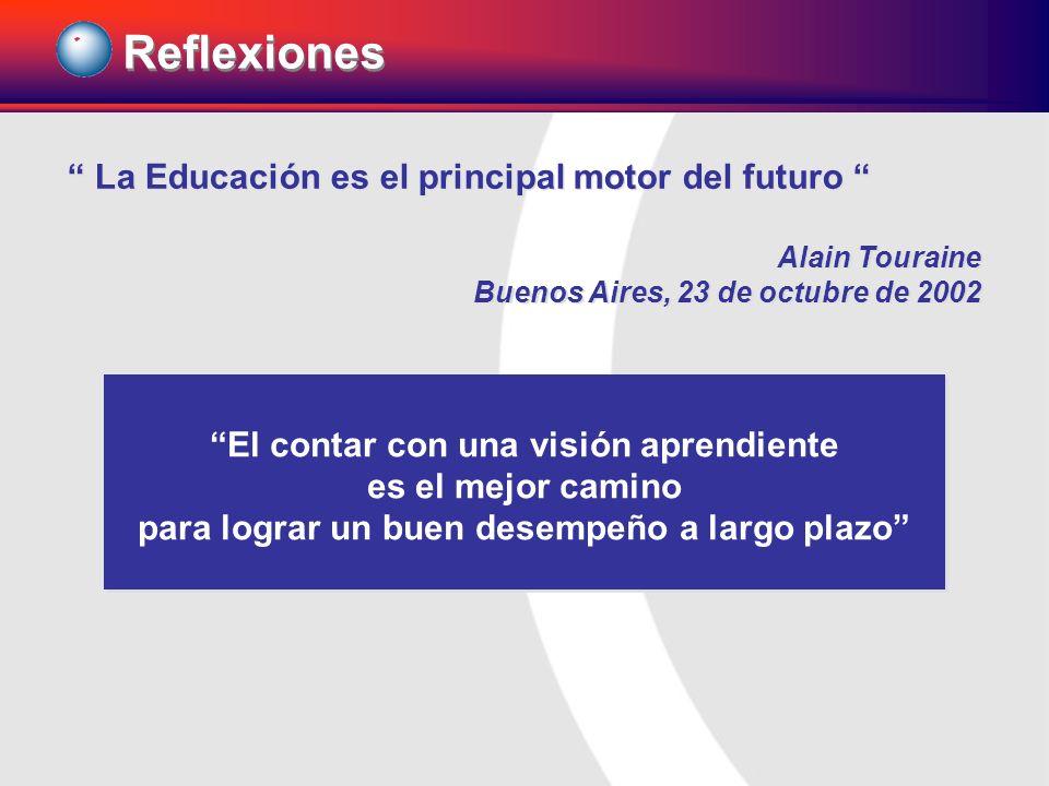 Reflexiones La Educación es el principal motor del futuro
