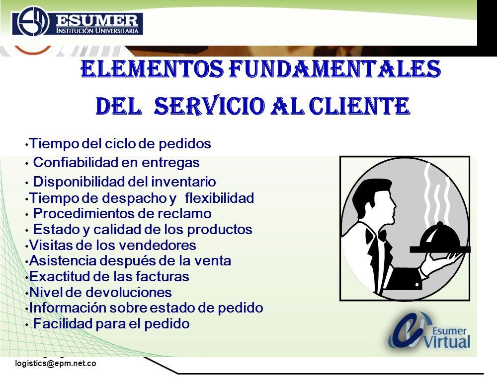 ELEMENTOS FUNDAMENTALES DEL SERVICIO AL CLIENTE