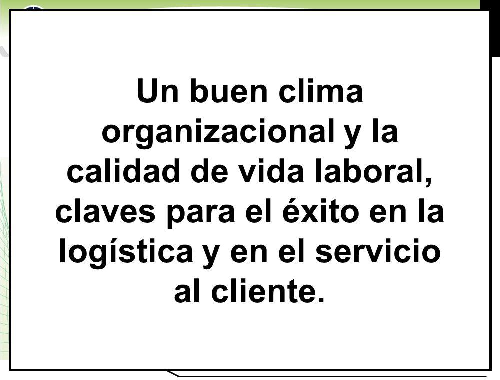 Un buen clima organizacional y la calidad de vida laboral, claves para el éxito en la logística y en el servicio al cliente.