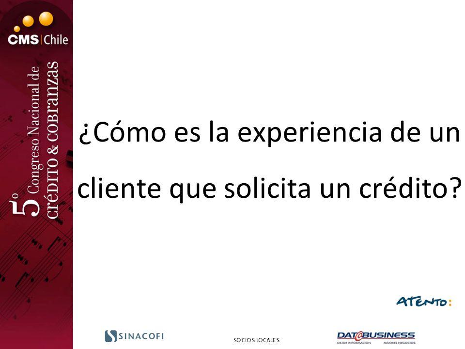 ¿Cómo es la experiencia de un cliente que solicita un crédito