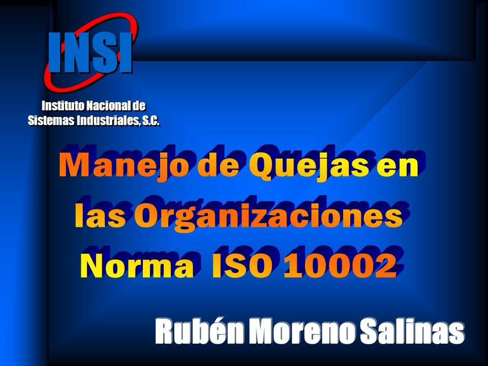 Sistemas de Calidad / ISO 9001:2000