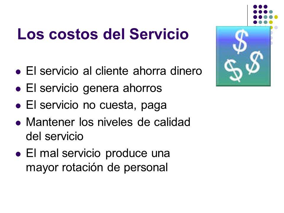 Los costos del Servicio