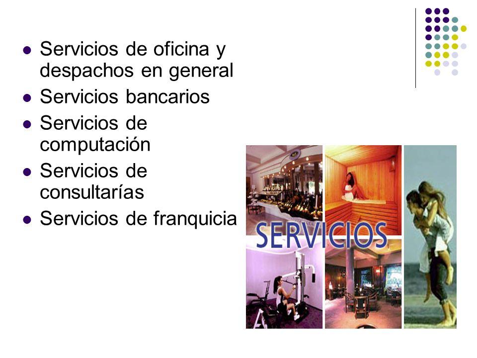 Servicios de oficina y despachos en general