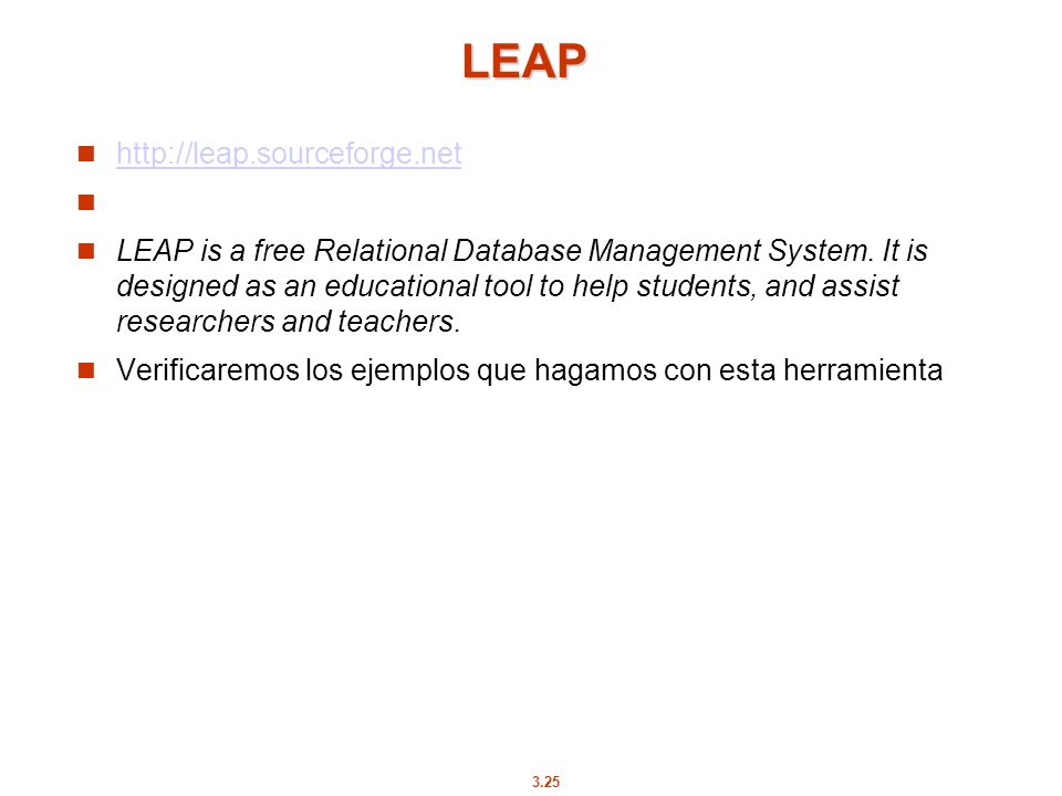 LEAP http://leap.sourceforge.net