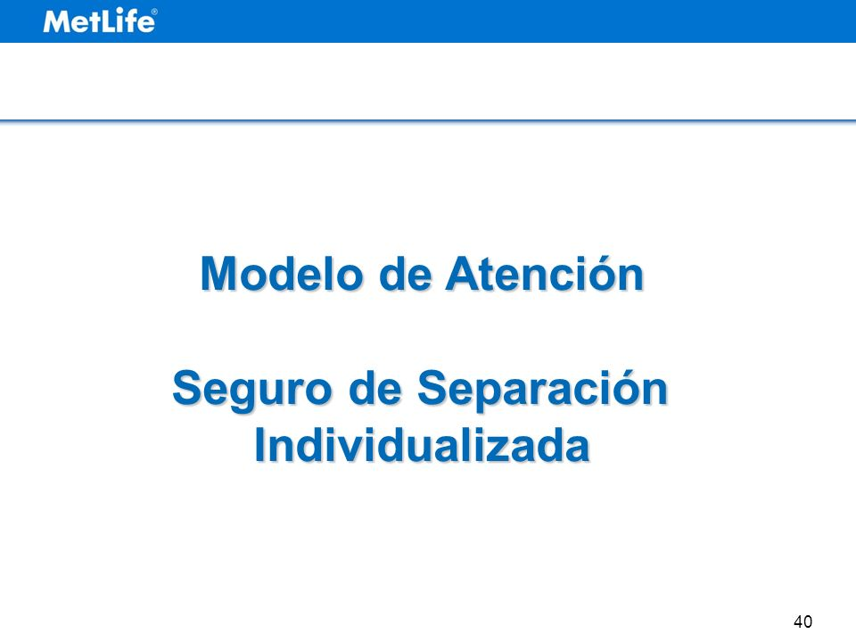 Modelo de Atención Seguro de Separación Individualizada