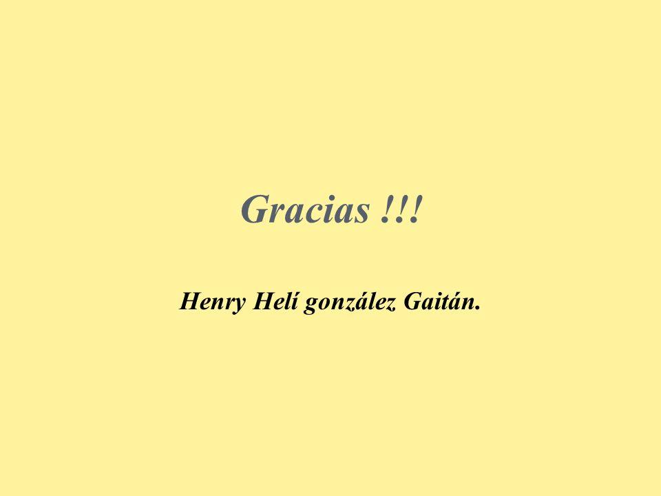 Henry Helí gonzález Gaitán.