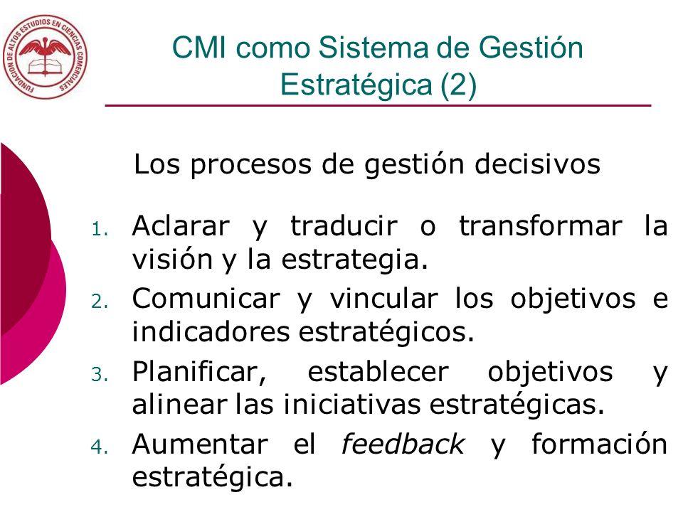 CMI como Sistema de Gestión Estratégica (2)