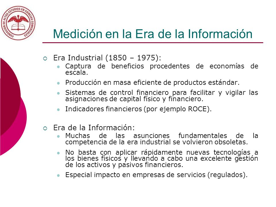 Medición en la Era de la Información