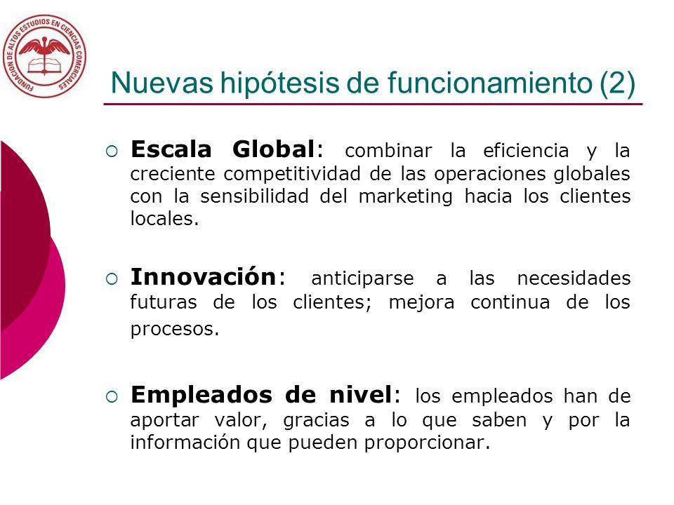 Nuevas hipótesis de funcionamiento (2)