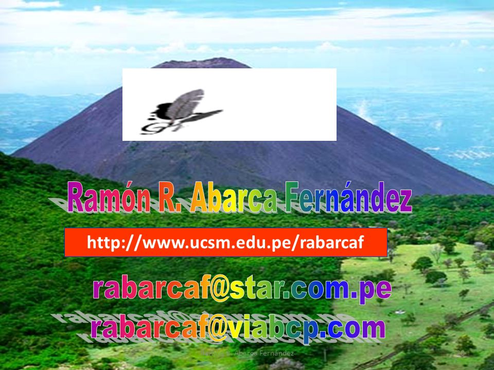 rabarcaf@star.com.pe rabarcaf@viabcp.com Ramón R. Abarca Fernández